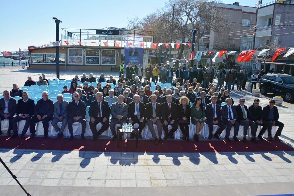Mürefte Atatürk Prestij Caddesi Hizmete Açıldı